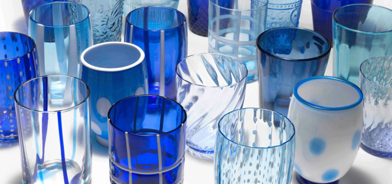 bicchieri - blu