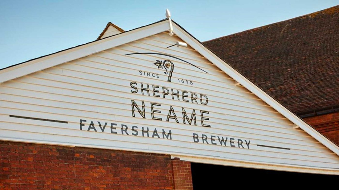 Birrificio Esterno Shepherd Neame - Kent - Regno Unito